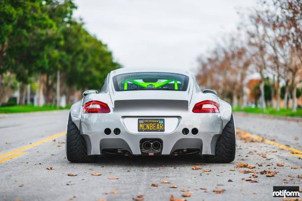 Porsche Cayman sa izvanrednom karoserijom