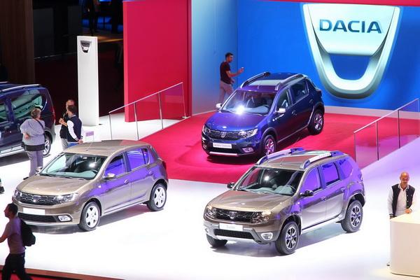 Dacia  na sajmu u Parizu