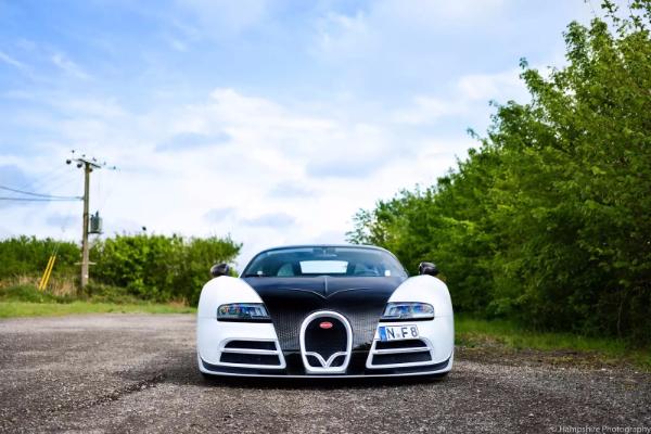Ultimativno retki Bugatti Veyron Panda