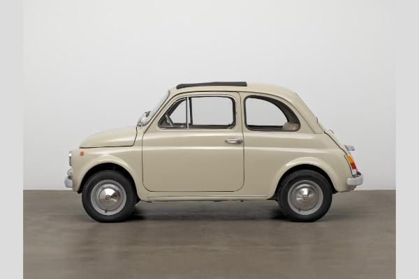 Originalni Fiat 500 biće predstavljen u muzeju umetnosti