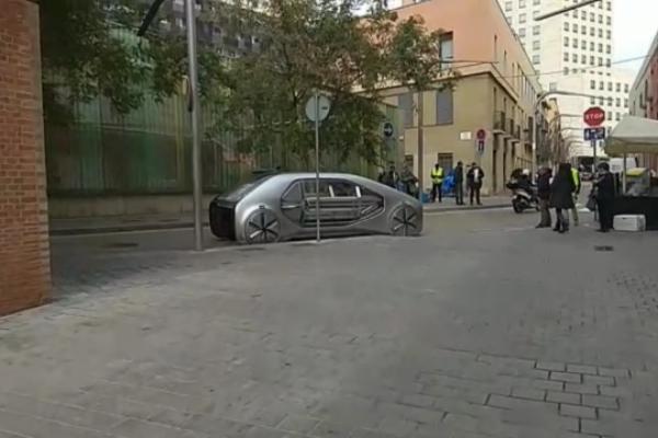Futuristički koncept kompanije Renault na ulicama Barselone