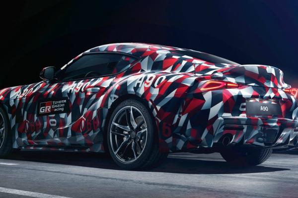 Toyota Supra po prvi put u proizvodnoj formi i kompletnoj kamuflaži