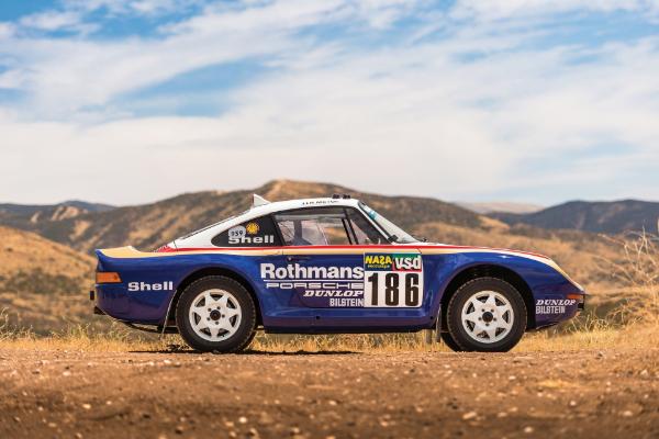 Porsche 959 Paris-Dakar može dostići cifru od tri miliona dolara