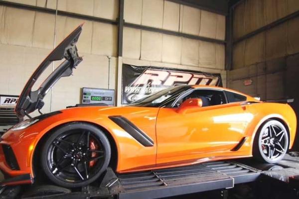 Kako ne ostati bez ruke na dino testu 2019 Corvette ZR1 modela
