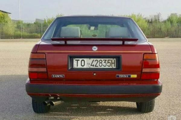 1987 Lancia Thema - super sedan sa Ferrari motorom