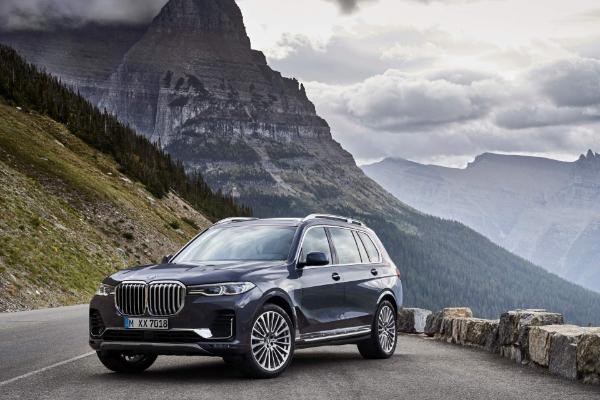 Novi BMW X7 je toliko veliki da jedva staje na fotografije