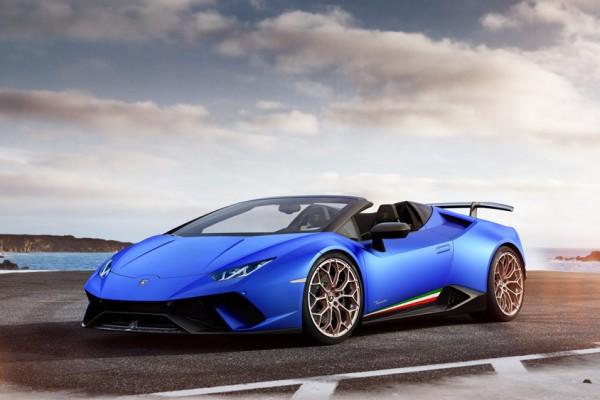 Kabrio verzija Lamborghini Huracan Performante Spyder modela