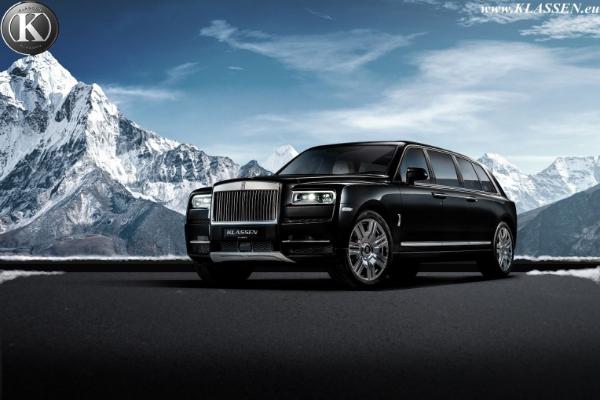 Brutalna i blindirana varijanta Rolls-Royce Cullinan modela