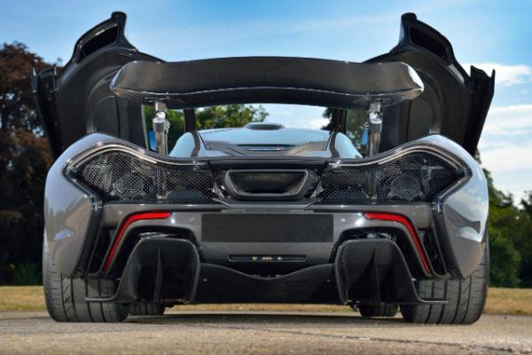 Džejson Baton prodaje svoj veličanstevni McLaren P1 model