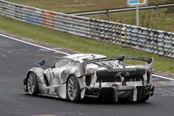 Uhvaćen novi Ferrari FXX K Evo