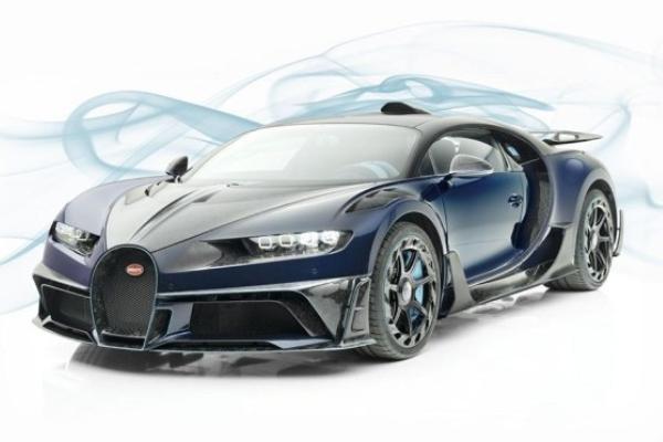 Mansory unapredio Bugatti Chiron
