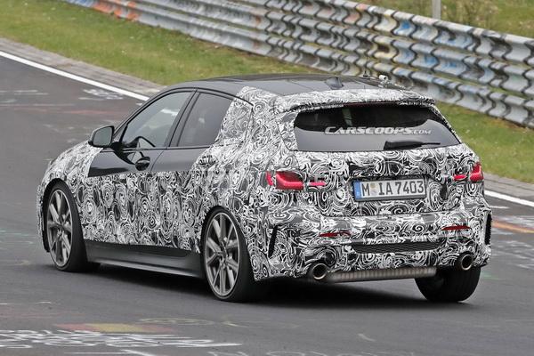 Uhvaćen novi BMW serije 1