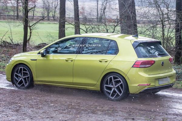 Nove fotografije novog Golf 8 modela