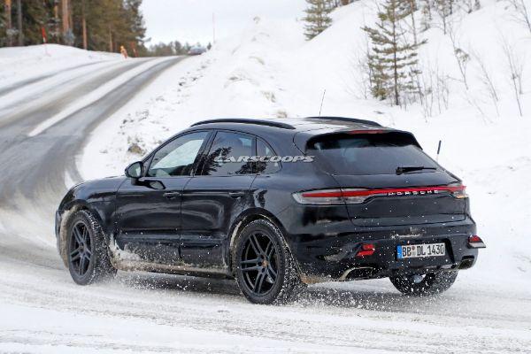 Uhvaćen novi električni Porsche Macan