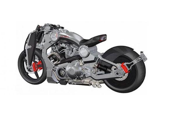 2020 Combat Wraith – motor napravljen od vojnog aluminijuma