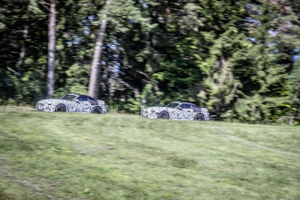 Uhvaćen novi Mercedes SL Roadster 2022