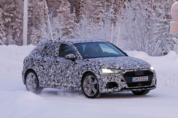 Uhvaćen novi Audi S3 2020