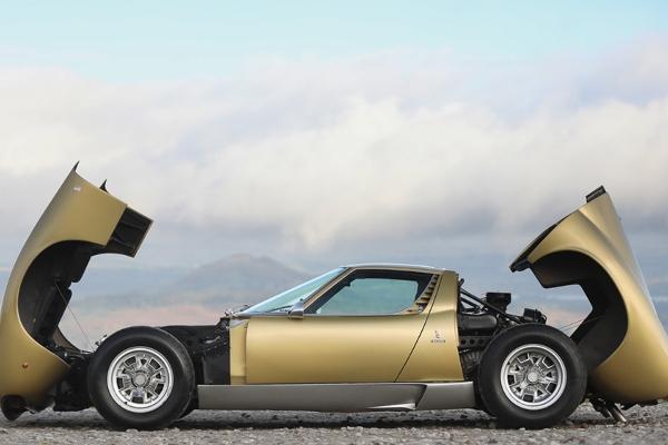 Retki Lamborghini Miura se prodaje na aukciji