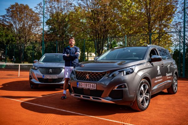 Teniska akademija Tipsarević i Peugeot objavili početak saradnje u Srbiji