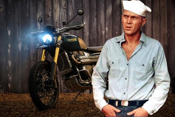 Ograničena linija Triumph motocikala kreiranih u čast Stiva Mekvina