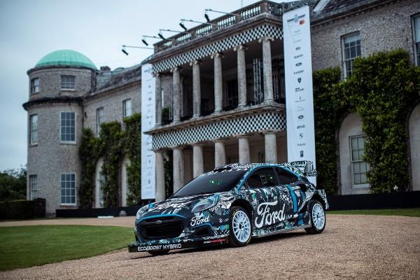 Ford Puma Rally1 - brutalni priključni hibridni SUV stiže u WRC šampionat