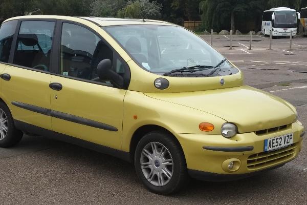 Fiat Multipla je pravi biser moderne autoindustrije