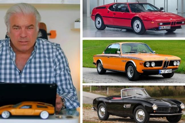 Legendarni dizajner bira najbolja tri BMW automobila svih vremena