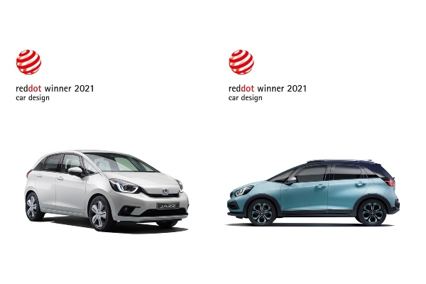 Honda osvojila Red Dot nagrade za 2021. za novi Jazz e:Hev, Jazz Crosstar e:Hev i Forza 750
