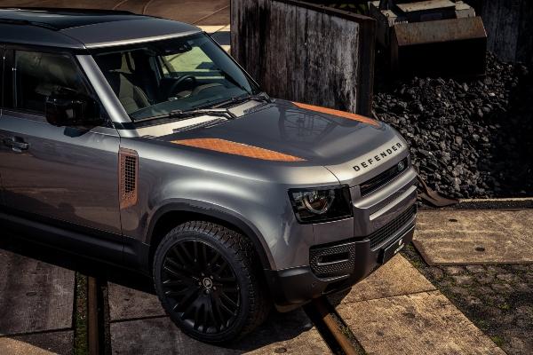 Neko plaća dobre pare za rđu na 2021 Land Rover Defender modelu
