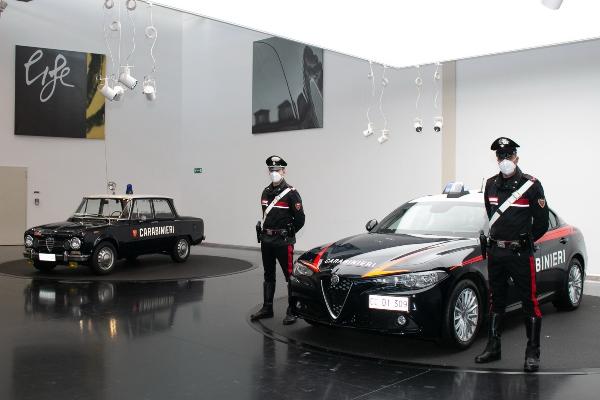Alfa Romeo kreira blindiranu flotu Giulia modela za Karabinjere