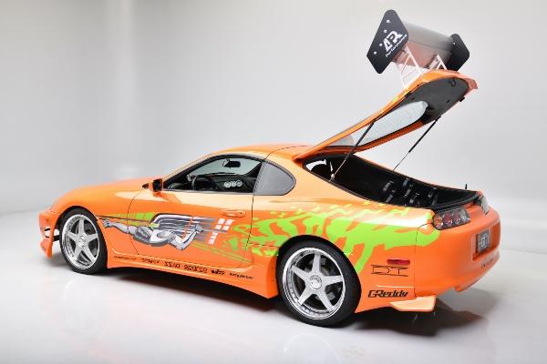 Aukcijska prodaja legendarnog Toyota Supra modela Pola Vokera