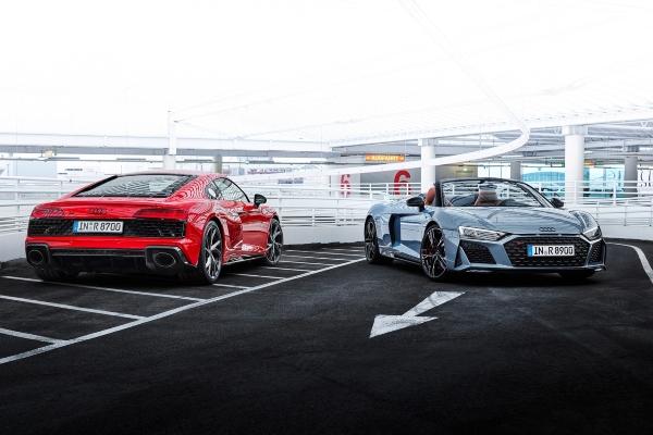 Audi dodaje više snage svojim R8 V10 Performance RWD modelima