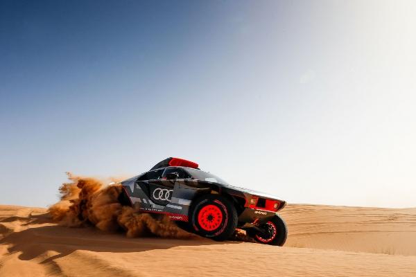 Audi u Maroku testira svoj reli RS Q e-tron model